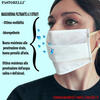 LAYER FILTERING MASK WITH ELASTICS Pack of 10 pieces