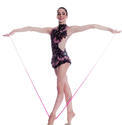ORIGAMI Rhythmic  Leaotards: Pastorelli Collection Pastorelli Sport Rhythmic Gymnastics