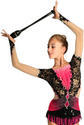 PASTORELLI SENIOR Gym Clubs;  FIG approved Rhythmic  Clubs Pastorelli Sport Rhythmic Gymnastics
