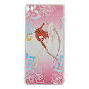HUAWEY P8 with RIBBON on PINK background Rhythmic  Gadgets Pastorelli Sport Rhythmic Gymnastics