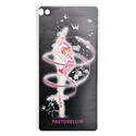 HUAWEY P8 cover with RIBBON on BLACK background Rhythmic  Gadgets Pastorelli Sport Rhythmic Gymnastics