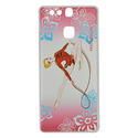 HUAWEY P9 cover with ROPE on PINK background Rhythmic  Gadgets Pastorelli Sport Rhythmic Gymnastics