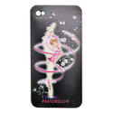 I-PHONE 4 cover with RIBBON on BLACK backround Rhythmic  Gadgets Pastorelli Sport Rhythmic Gymnastics