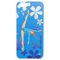 I-PHONE 5 cover with BALL on LIGHT BLUE background Rhythmic  Gadgets Pastorelli Sport Rhythmic Gymnastics