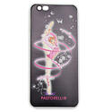 I-PHONE 6 cover with RIBBON on BLACK background  Rhythmic  Gadgets Pastorelli Sport Rhythmic Gymnastics