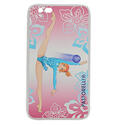 I-PHONE 6 cover with BALL on PINK background  Rhythmic  Gadgets Pastorelli Sport Rhythmic Gymnastics