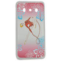 SAMSUNG J5 cover with RIBBON on PINK background Rhythmic  Gadgets Pastorelli Sport Rhythmic Gymnastics