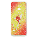 SAMSUNG S5 cover with ROPE on YELLOW background Rhythmic  Gadgets Pastorelli Sport Rhythmic Gymnastics
