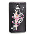SAMSUNG S5 cover with RIBBON on BLACK background  Rhythmic  Gadgets Pastorelli Sport Rhythmic Gymnastics