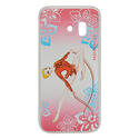 SAMSUNG S7 cover with ROPE on PINK background  Rhythmic  Gadgets Pastorelli Sport Rhythmic Gymnastics