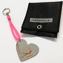 PASTORELLI heart-shaped key rings with your name Rhythmic  Gadgets Pastorelli Sport Rhythmic Gymnastics