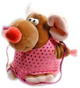 Pina the lady mouse with rope Rhythmic  Gadgets Pastorelli Sport Rhythmic Gymnastics