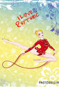 "PASTORELLI ""Lucia with rope"" exercise book Rhythmic  PASTORELLI Stationery Line Pastorelli Sport Rhythmic Gymnastics"