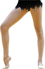 Black and Flesh Tone Tights  Rhythmic  PASTORELLI  Fashion Pastorelli Sport Rhythmic Gymnastics
