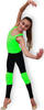 FUNNY LINE by PASTORELLI: Pair of FLUO GREEN Knee Pads